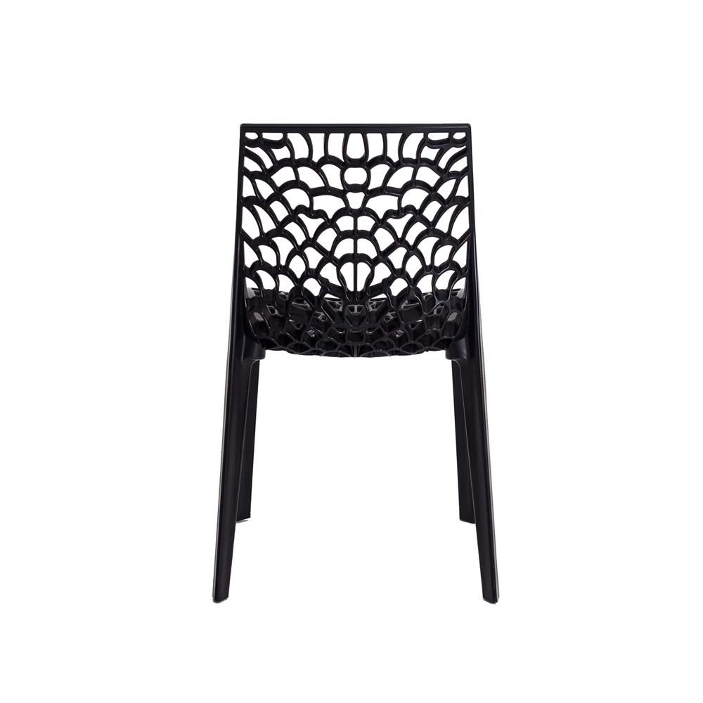 Cadeira De Jantar Gruvyer Design Preto