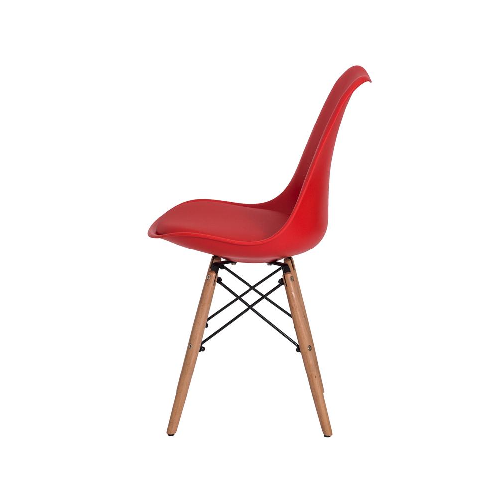Cadeira De Jantar Saarinen Torre Vermelha