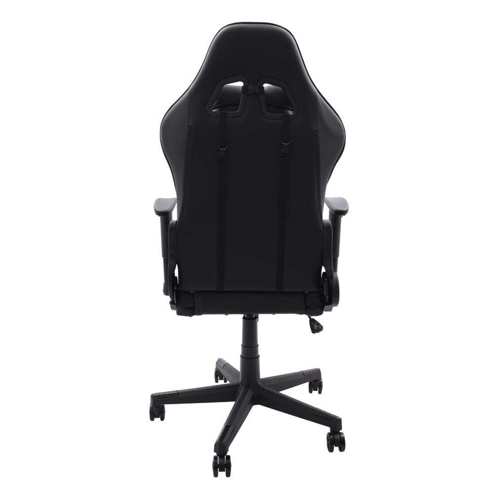 Cadeira Gamer EagleX Matrix Preta Com Apoio De Pé