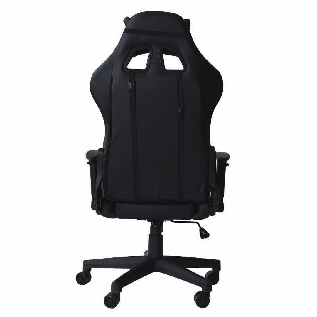 Cadeira Gamer Pro Reclinável Giratória Com Ajuste de Altura e Braço 3D Profissional Setup Game Cor Preto
