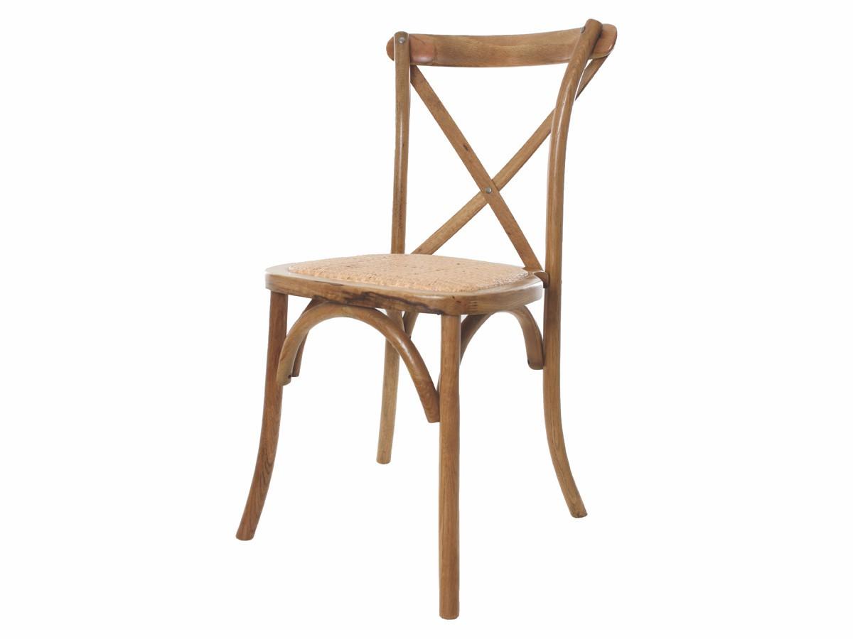 Cadeira Katrina Cross Paris Empilhável Madeira