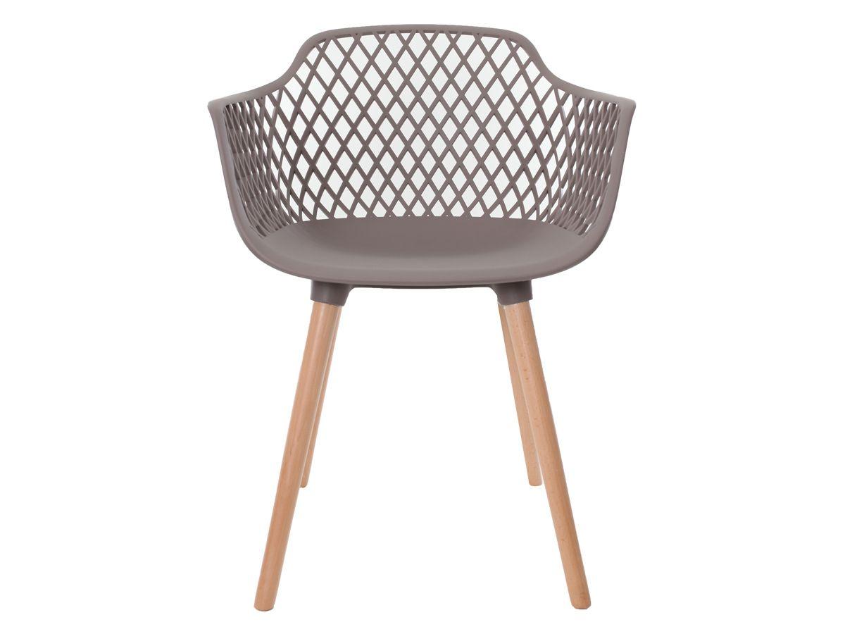 Cadeira Para Mesa Sala De Jantar Charles Eames Eiffel Vision Com Braço Fendi