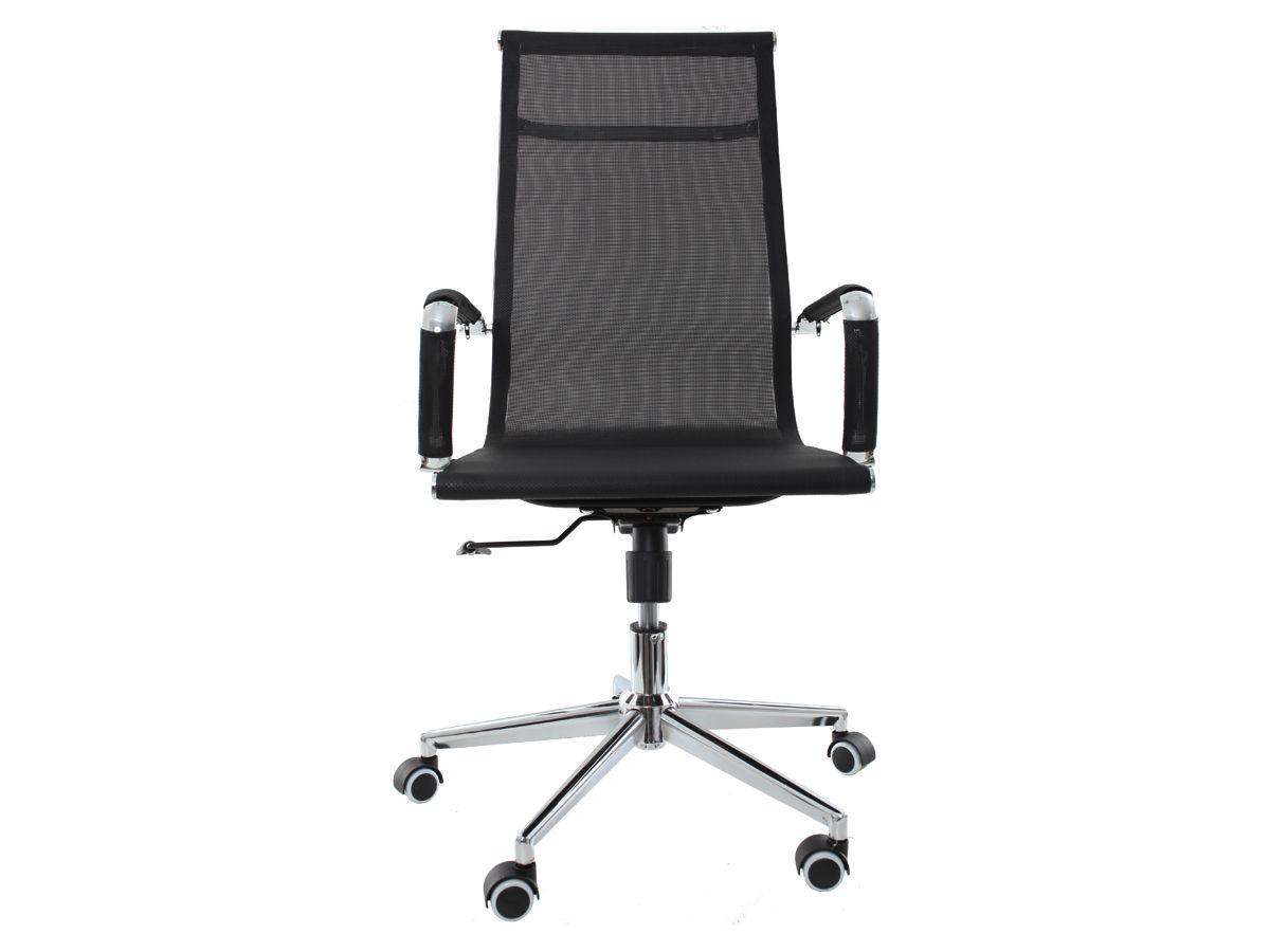 Kit 2 Cadeira De Escritório Presidente Charles Eames Tela Mesh