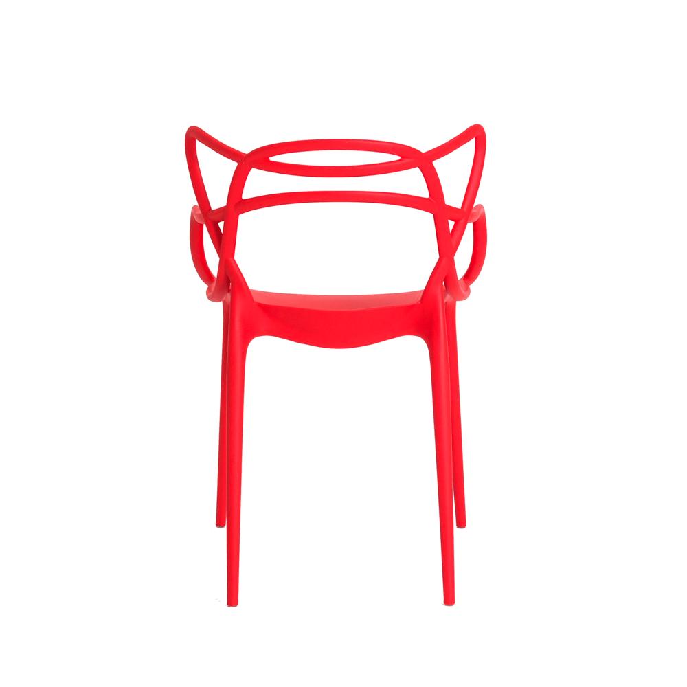 Kit 2 Cadeiras De Jantar Allegra Master Vermelho Com Inmetro