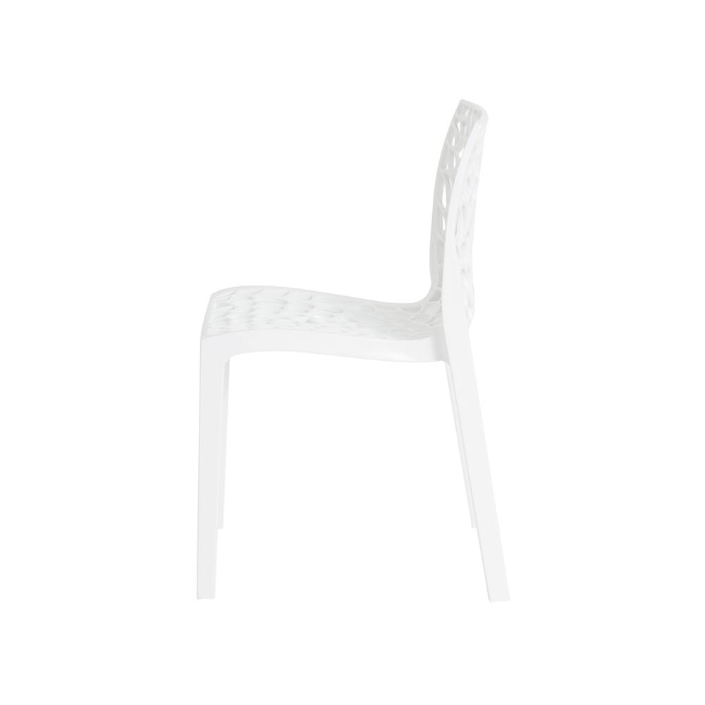 Kit 2 Cadeiras De Jantar Gruvyer Design Branco Com Inmetro