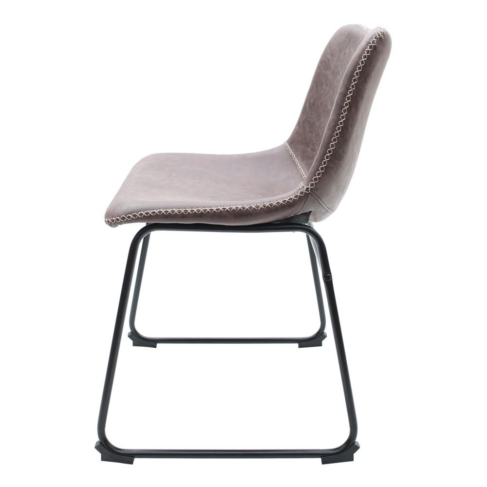 Kit 2 Cadeiras Munich Bruna Marrom