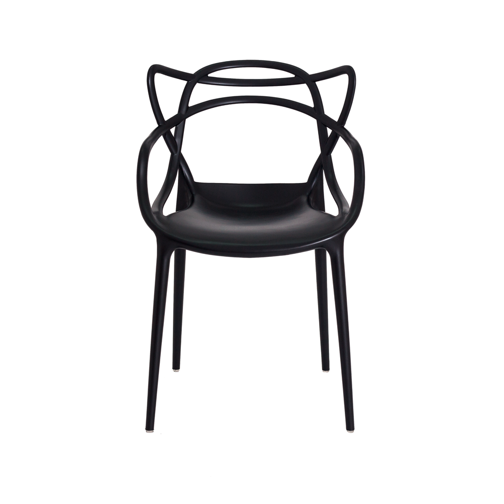 Kit 4 Cadeiras De Jantar Allegra Master Preto Com Inmetro