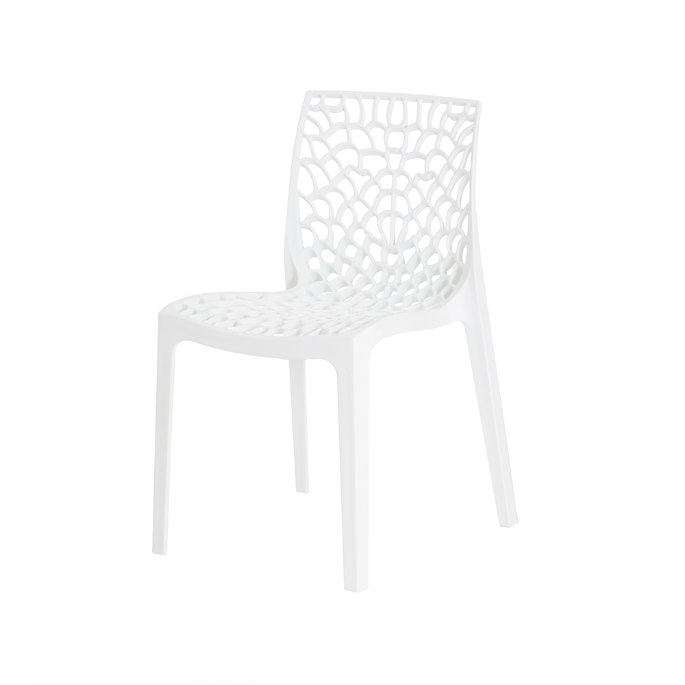 Kit 4 Cadeiras De Jantar Gruvyer Design Branco Com Inmetro