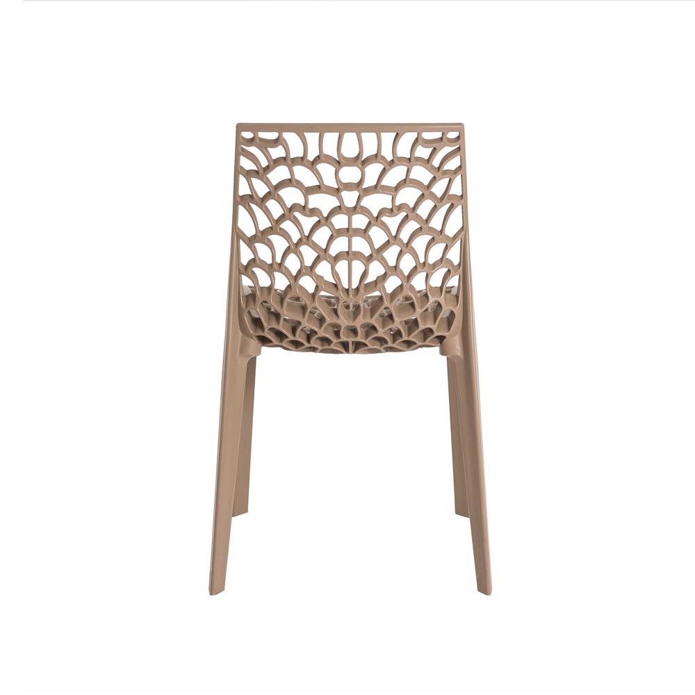 Kit 4 Cadeiras De Jantar Gruvyer Design Fendi Com Inmetro