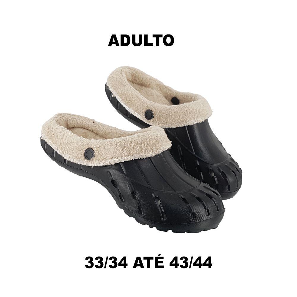 Babuche Pelo Sandália Adulto e Infantil Pantufa Cal Lojas Belli