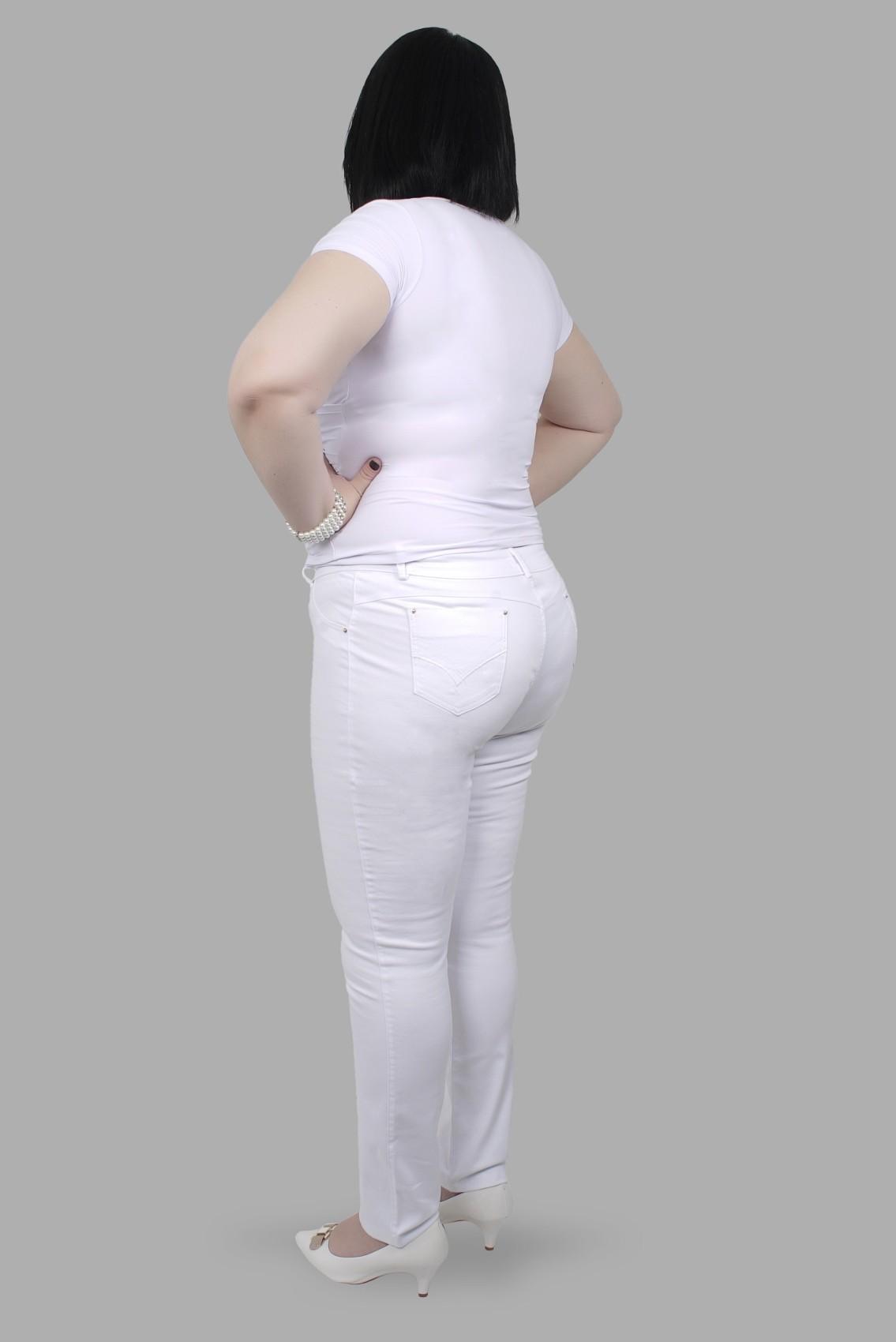 Calça Skinny Bordada