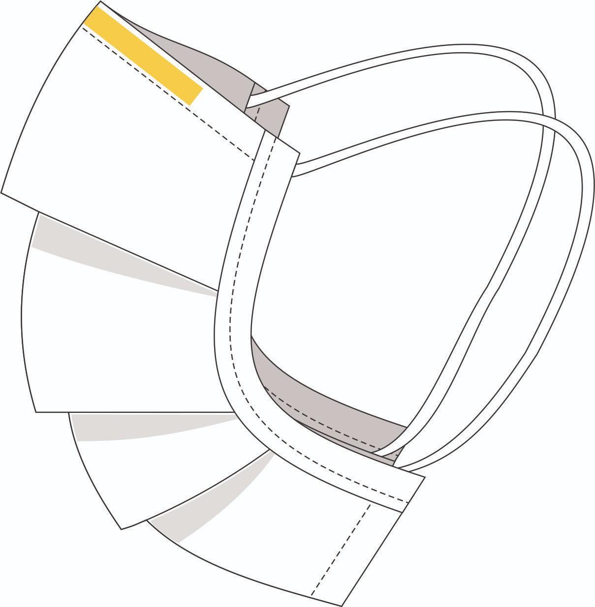 Kit 100 Máscara Descartável