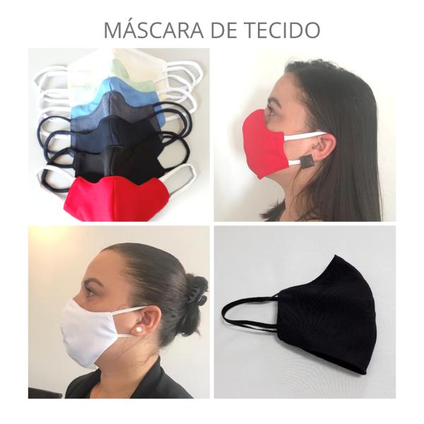 Máscara Tecido |TAM. M| Pacote c/10