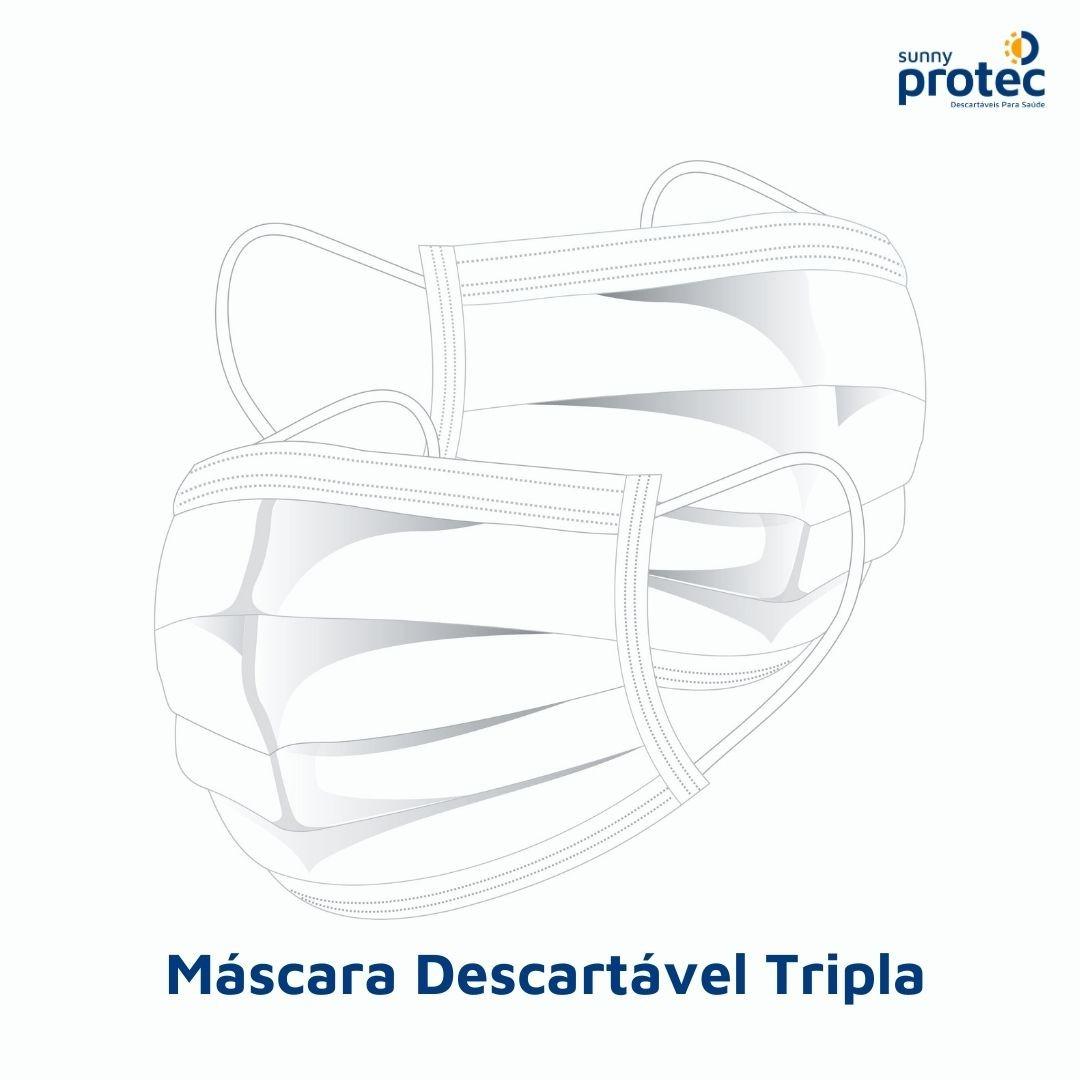 Máscara Tripla Camada
