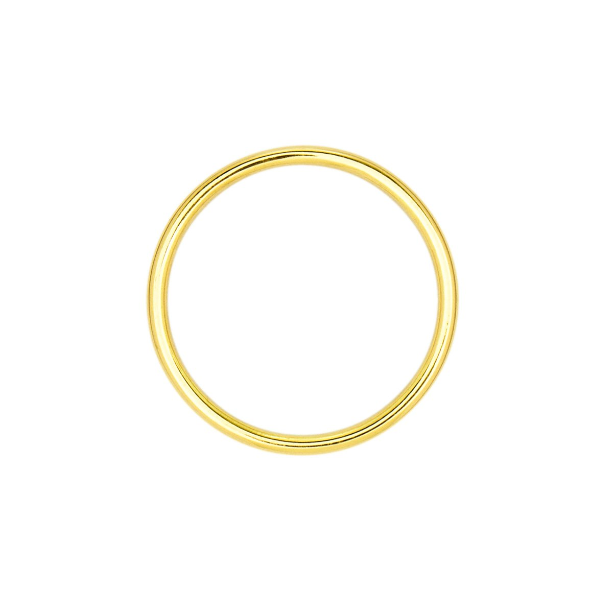 Anel Falange de Ouro Amarelo O de Officinale