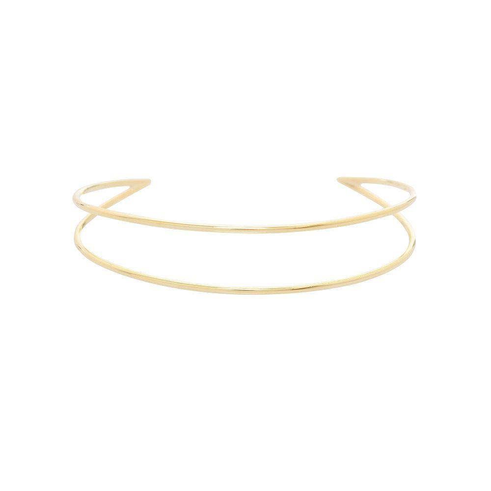 Bracelete de Ouro Amarelo Paralela