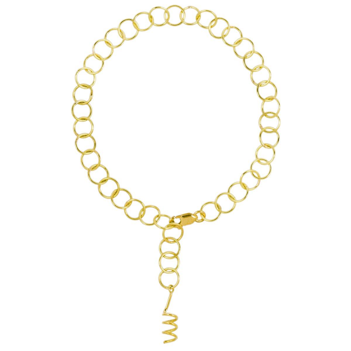 Pulseira de Ouro Amarelo Spiral
