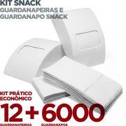 Kit Guardanapeira e Guardanapo Snack