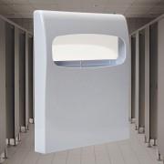 Suporte Protetor para Assento Sanitário Descartável Branco - 1 Unidade