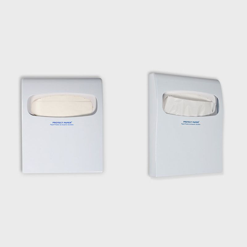 Suporte Protetor para Assento Sanitário Descartável Branco - 1 Unidade - Scala Papéis  - Scalashop