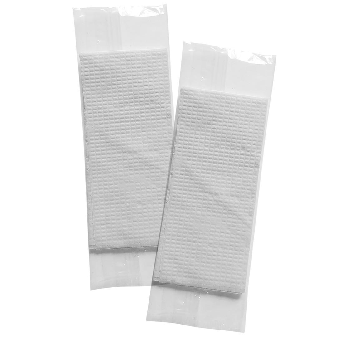 Guardanapos Sachê BOPP - Sachê BOPP com 2 Guardanapos Pequenos - Folha Simples - 500 Sachês  - Scalashop