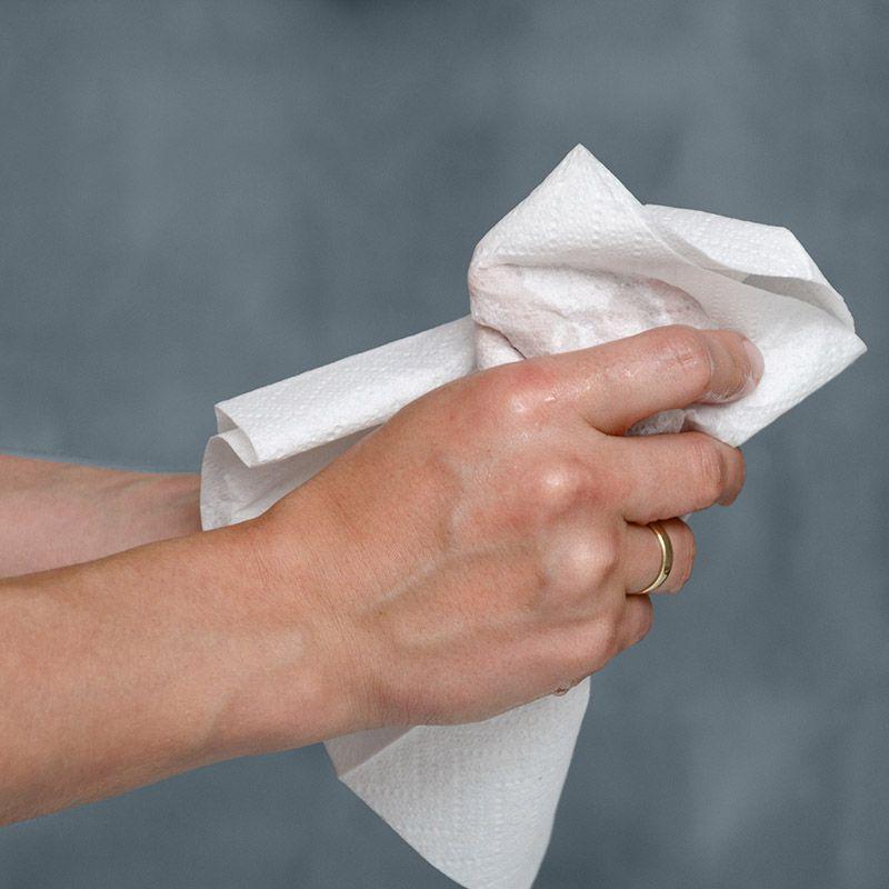 Guest Towel - Folha Dupla - Dobra 1/8 - 42x40cm - 200 Unidades - Scala Papéis  - Scalashop
