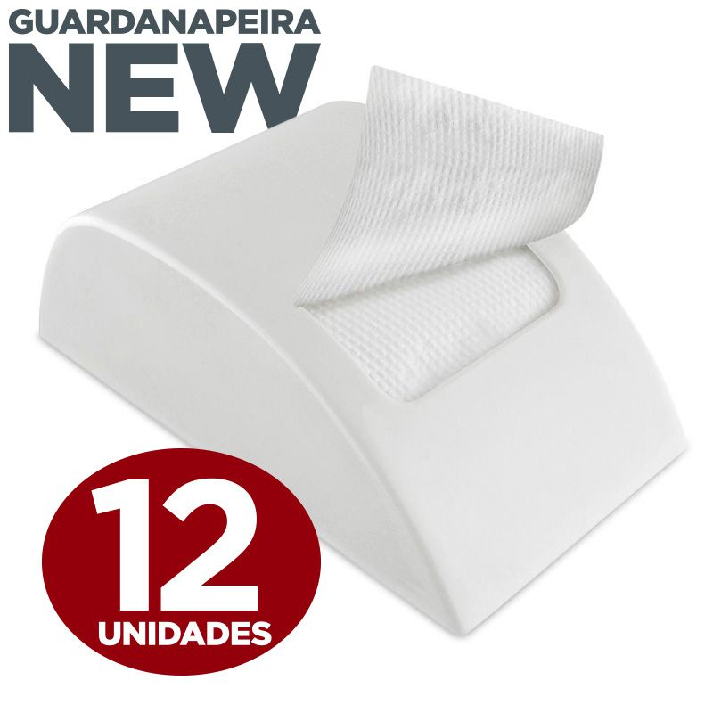 Kit Guardanapeira e Guardanapo Snack Pequeno  - Scalashop