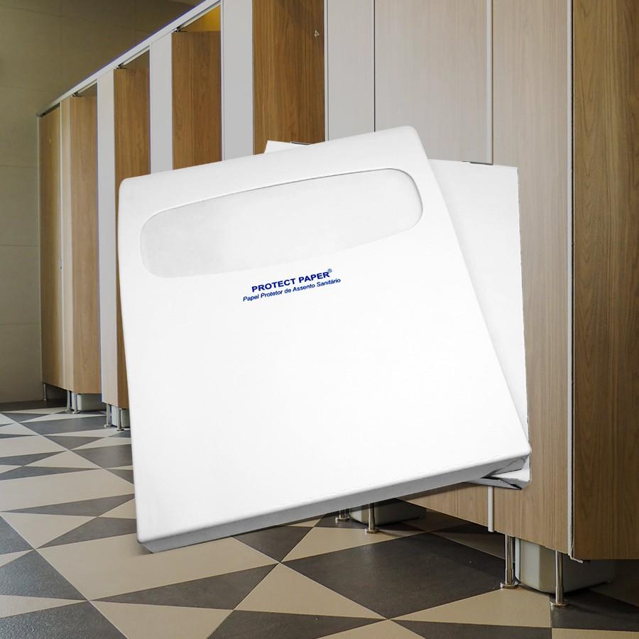 Kit Suporte Protetor para Assento Sanitário + Refil com 120 Protetores  - Scalashop