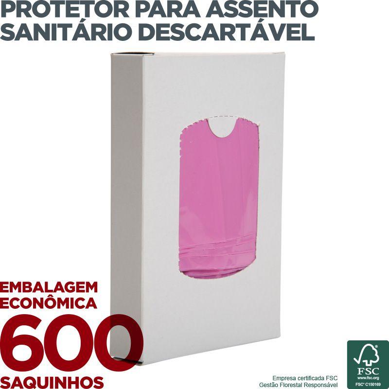 Saquinho para Descarte de Absorvente Íntimo - 600 Saquinhos  - Scalashop