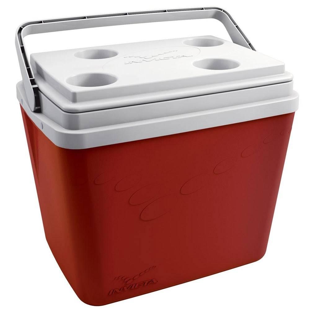 Caixa Térmica Pop Vermelho 34 Litros - Invicta