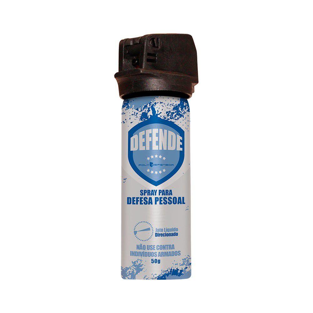 Spray de Defesa Pessoal Poly Defensor Direcionado 50gr