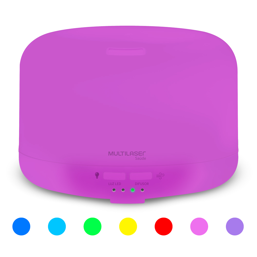Difusor de Aromas Color Air  - Multilaser