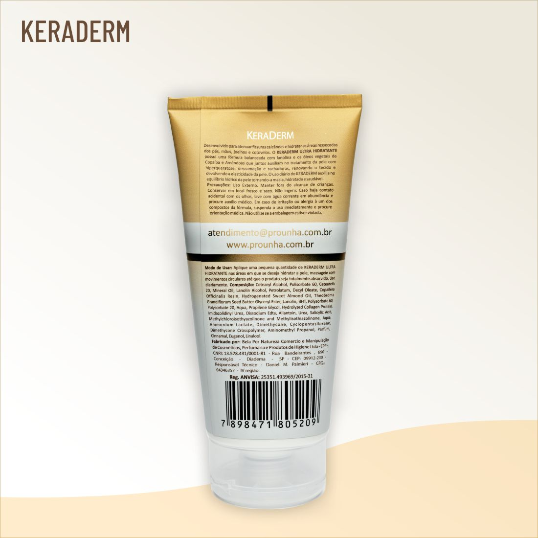 KeraDerm - Bisnaga 180g