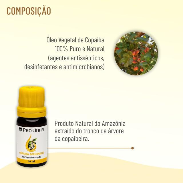 Óleo Vegetal de Copaiba