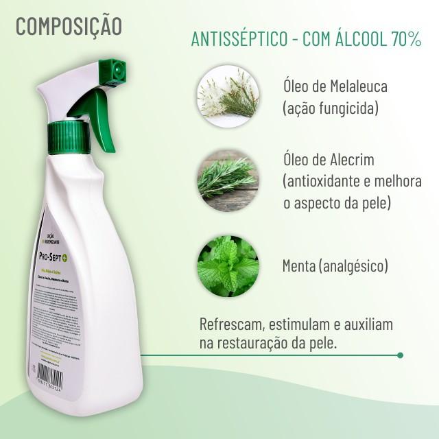 Pro Unha Sept - Álcool 70% - 500ml