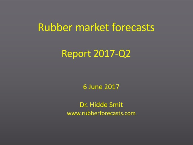 Rubber market forecasts
