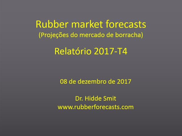 Rubber market forecasts - Português
