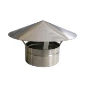 Adaptador p/Churr. Pré-Mold. 200mm + 2 Curvas 90º + Chapéu