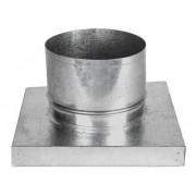Adaptador P/churr. Pré-mold. C/Duto 150mm c/1,5m + Anel Acab