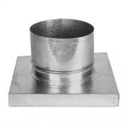 Adaptador P/churrasq. Pré-moldada 27x37cm c/Duto 200mm-1,5m
