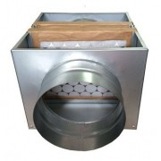 Caixa de Filtragem em Chapa Galvanizada G4