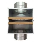 Caixa de Filtragem em Chapa Galvanizada G4 + Carvão Ativado