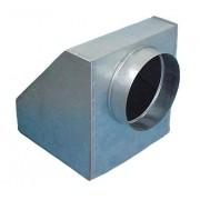 Caixa Plenum c/filtro Medida: 600 x 600 x diam. 400mm