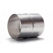 Duto De Alum. Semi-flex. (3m) 120mm + 2 Luva União + 4 Abraç