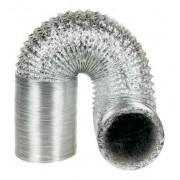 Duto Flexivel Alum. 300mm - 3 metros + Fita + 2 Abraçadeiras