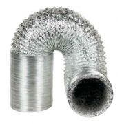 Duto Flexivel Aluminizado 150mm - 10 Metros + Rolo de Fita