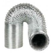 Duto Flexivel Aluminizado 150mm - 5 Metros + Rolo de Fita