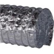 Duto Flexivel Aluminizado Reforçado c/Fibra de Vidro (Rl. c/7,62 mts)