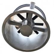 Exaustor Axial Encapsulado em Fibra de Vidro Trifásico Diam. 700 mm Mod: EAEFV-700-T4