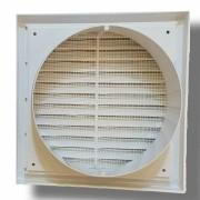 Kit p/Instalação Coifa Grelha Fixa 150mm + Duto Semi 3m